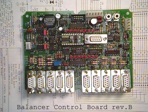 Balancer Control Board rev.B