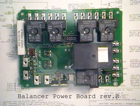 Balancer Power board rev.B