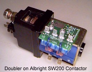 Doubler on Contactor         Photo