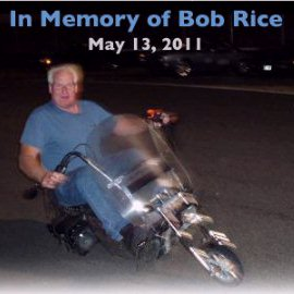 Bob Rice on a Motorcycle EV